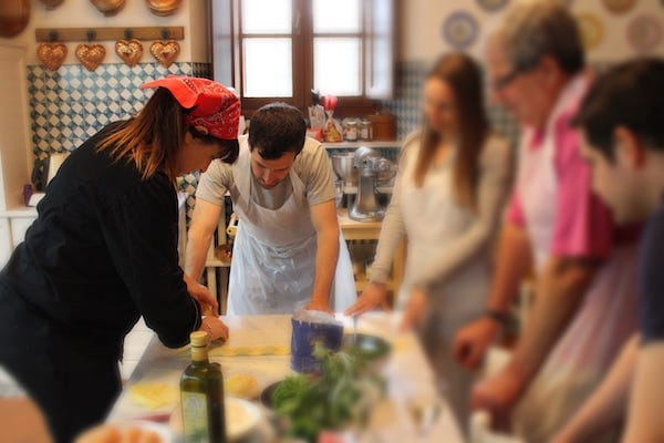 cooking class in Florence
