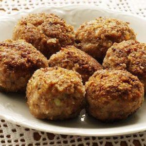 Meatballs Vegetables